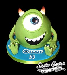 Monsters Inc. - Mike by Sucre Coeur - Eats & Ink, via Flickr