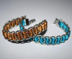 Ringe umwickelt mit Satinbändern Beaded Bracelets, Jewelry, Fashion, Wrap Around, Arts And Crafts, Ring, Creative, Moda, Jewlery