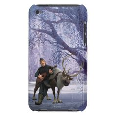 Disney Frozen Sven and Kristoff iPod G4 Case #DisneyFrozen