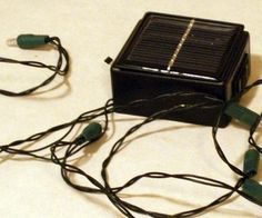 Making a basic solar powered string of led lights isn't too difficult. This instructable will require no electronics knowledge and no programing....