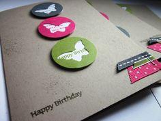 #stampin up - Happy Birthday - Viel-schichtig
