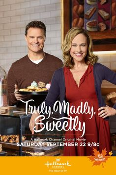 "Its a Wonderful Movie - Your Guide to Family and Christmas Movies on TV: Truly, Madly, Sweetly - a Hallmark Channel ""Fall Harvest"" Movie starring Nikki DeLoach and Dylan Neal! Hallmark Channel, Películas Hallmark, Films Hallmark, Hallmark Holiday Movies, Great Movies, New Movies, Movies And Tv Shows, Movies Showing, The Fall Movie"