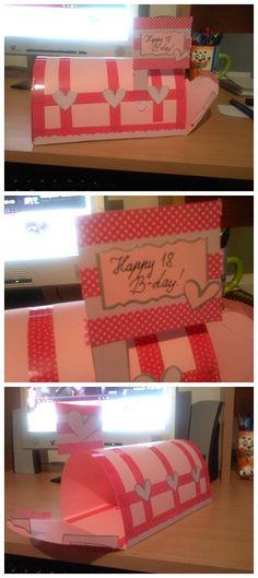 Mailbox for my friend's birthday :)