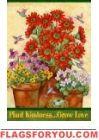 Plant Kindness Garden Flag