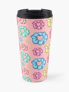 'Colorful 8 Scrunchies Pack ' Travel Mug by AElenaS Travel Packing, Scrunchies, Travel Mug, Travel Destinations, Packaging, Colorful, Mugs, Tableware, Road Trip Destinations