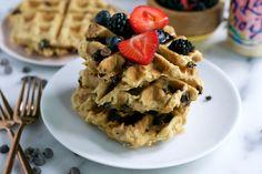 Vegan La Croix Waffles