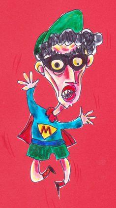 A colori, cartoon, 2010