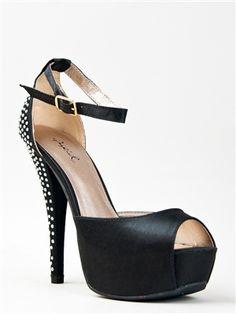 DbDk Laurie-1 Faux Suede Adjustable Ankle Strap Platform Wedge Heel Dress Sandal