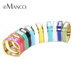 ⌛️COMING SOON⏰ Trendy square open cuff ename alloy bangle bracelets. Available in assorted colors: black/silver, white/silver, pink/gold, grey/silver NO TRADES ❌QUESTIONS FROM NON SERIOUS BUYERS DO NOT BUNDLE UNLESS YOU INTEND TO BUY ✂️DO NOT LOWBALL ⛔️NO PRICE COMMENTS ⁉️PRICE IS FIRM AND REFLECTED ON FEES AND COST Boutique Jewelry Bracelets