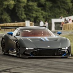 Aston Martin is known around the world as one of the premier luxury car makers. The Aston Martin Vulcan is a track-only supercar Ferrari, Lamborghini, Aston Martin Vulcan, Aston Martin Cars, Sexy Cars, Hot Cars, Bugatti, Maserati, Supercars