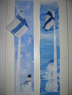 Ylikylän koulu - don't know what this says, but I sure recognize the flag of my ancestors. Finnish Independence Day, Independence Day Theme, Christmas Art, Winter Christmas, Hobbies And Crafts, Arts And Crafts, Diy For Kids, Crafts For Kids, Kindergarten Themes