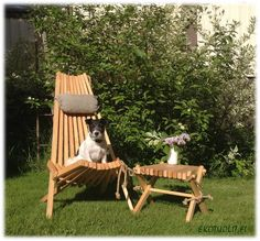 EcoChair, Lilli-table and our little JRT Niilo <3