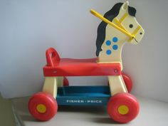 Fisher Price Riding Horse Bought two for twins. Was My girls were one in June. My Childhood Memories, Childhood Toys, Sweet Memories, Fisher Price Toys, Vintage Fisher Price, Thanks For The Memories, 80s Kids, I Remember When, Oldies But Goodies