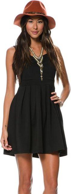 DAHLIA HEART CUT OUT DRESS > Womens > Clothing > New | Swell.com