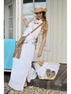 Isla ibiza maxi dress  www.stylebird.nl