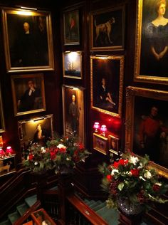 ralph lauren christmas  | The main staircase at the Ralph Lauren store...hung from to top to ...