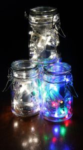 Something to do with your battery powered fairy lights after Christmas. Bring a little magic to your life.