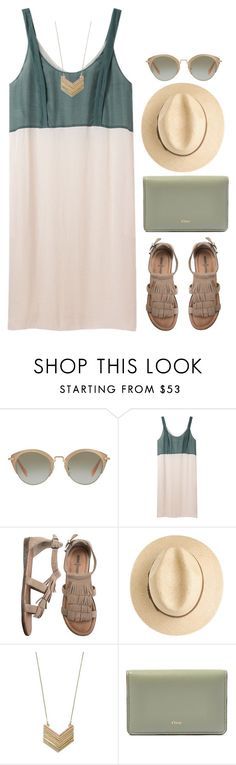 """Shades of Summer"" by grapecar ❤ liked on Polyvore featuring Miu Miu, Cacharel, Minnetonka, Madewell, Chloé, polyvoreeditorial, polyvorecontest and shadesofyou"