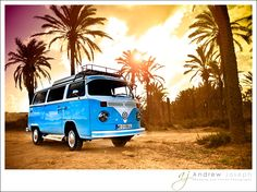 VW Camper van – Costa Blanca Spain - We transported our band and equipment in these during the 1960s.
