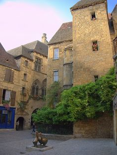 Sarlat, France-I stood in this exact spot when I travelled to France. I would love to go back!