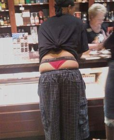 Thong Atomic Wedgie primed and ready
