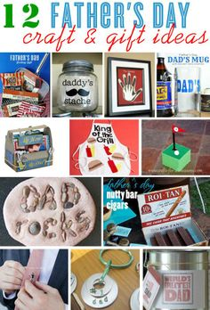 Fathers Day craft and gift ideas to DIY