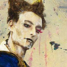 David Bowie by Lita Cabellut