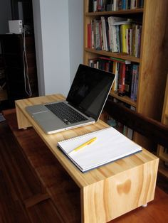 stand up wooden computer desk - Google Search