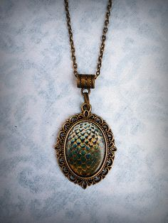 Game of Thrones Dragon's Egg Necklace
