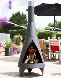 Find La Hacienda Colorado Chimenea Xl at Homebase. Visit your local store for the widest range of outdoor living products. Outdoor Heaters, Patio Heater, Outdoor Fire, Outdoor Living, Outdoor Decor, Real Fire, Fire Bowls, Good House, Colorado