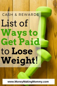 Weight Loss Motivation! Here's some inspiration and tips to help you - you can actually get paid to lose weight!