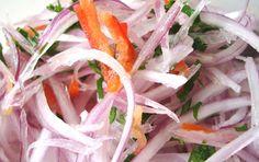 Salsa Criolla - peruvian pickled onion