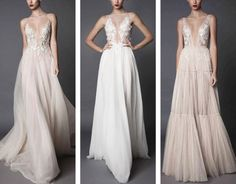 Beautiful wedding gowns for stylish brides #engaged