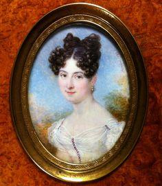 François Sieurac, Portrait de la comtesse de Saumery, 1824
