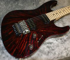 Suhr Guitars Red Nova Finish ~ Strat-O-Blogster Guitar Blog