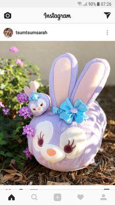 Tsum Tsums, Disney Bear, Disney Tsum Tsum, Duffy, Cookie, Easter, Christmas Ornaments, Holiday Decor, Friends