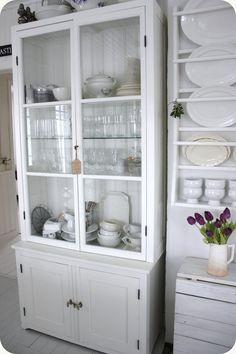 such a pretty cabinet