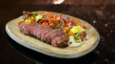 Sonya and Hadil - Chargrilled Lamb with Moutabel and Fattoush Salad Fatoush Salad, My Kitchen Rules, Microwave Cake, Latest Recipe, Middle Eastern Recipes, Food For Thought, Barbecue, Lamb, Tasty