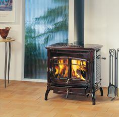 Hergom - Estufas, hogares y chimeneas de hierro fundido para leña y gas. Europa América - Bennington
