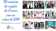 You should enter Rifas de tarjetas de regalo de iTunes. There are great prizes and I think one of us could win!
