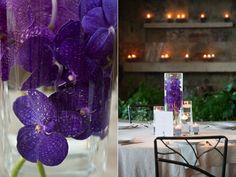 Plum and Gray Texas Wedding Deep purple mokaras...love em!!!