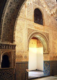 Al-Hambra, when the Moors ruled Spain (Andalusia)