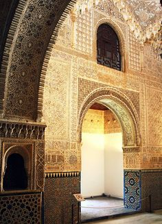 Al-Hambra, when the Moors ruled Spain (Andalusia)