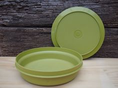 Vintage Tupperware Round Seal and Serve Set by FrenchForTuesday