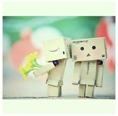 Danbo kisses
