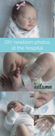 learn how to take amazing photos of your newborn in the hospital with these easy to follow photography tips #baby