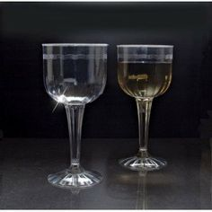 EMI YOSHI 1 pc. Fluted 8 oz. Wine Goblet, Clear, 96 per case by Koyal. $79.99. Our 1 piece fluted wine goblets are a simple and elegant way to serve drinks, champagne, wine and more. Disposable and recyclable. Pair this with other koyal wholesale products, such as vases, event decorations, lighting, diy craft supplies and dessert and candy buffet supplies. Great for weddings, baby showers, black tie events, tasting and sampling parties, catering events and more. ...