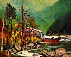 Pied du mont (Bruno Côté) Tom Thomson, Emily Carr, Canadian Painters, Bruno, Cool Art, Awesome Art, Tex Lecor, Scenery, Images