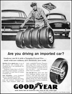 """""""Are you driving an imported car? Shame on you! That's un-American! You must be a Communist!"""""""