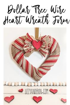 Best Garden Decorations Tips and Tricks You Need to Know - Modern Diy Valentines Day Wreath, Valentine Day Crafts, Valentine Ideas, Saint Valentine, Funny Valentine, Wreath Crafts, Diy Wreath, Wreath Ideas, Door Wreaths
